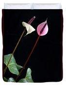 Flamingo Flower Duvet Cover