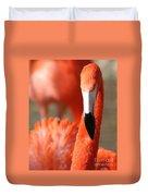 Flamingo Pose Duvet Cover