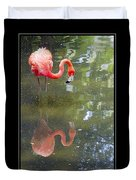 Flamingo Reflected Duvet Cover