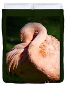 Flamingo Twist Duvet Cover
