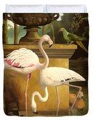 Flamingos Duvet Cover