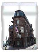 Flat Iron Annapolis - Maryland Inn Duvet Cover