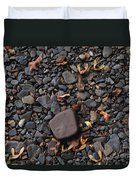 Flat Skipping Stones Duvet Cover