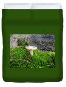 Flat Topped Mushroom Duvet Cover