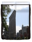 Flatiron Building - Manhattan Duvet Cover