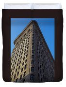 Flatiron Building New York Duvet Cover
