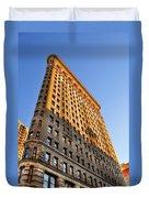 Flatiron Building Profile Too Duvet Cover