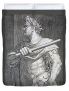 Flavius Domitian Duvet Cover by Titian