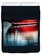 Red Boat Serenity Duvet Cover