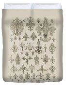 Fleur De Lys Designs From Every Age And From All Around The World Duvet Cover
