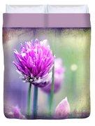 Fleurs De Oboulette Duvet Cover