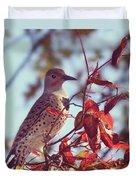Flicker In Autumn Duvet Cover