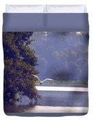 Flight Above Water IIi Duvet Cover