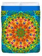 Flight Mandala Duvet Cover