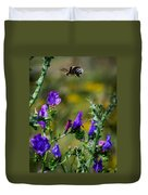 Flight Of The Bumblebee Duvet Cover