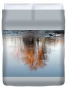 Flint River 22 Duvet Cover