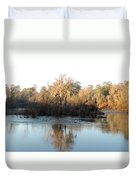 Flint River 27 Duvet Cover