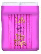 Flip Flop Life Duvet Cover