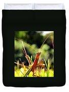 Flirty Mantis Duvet Cover
