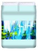 Float 1 Horizontal Duvet Cover