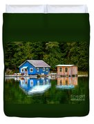 Floating Cabin Duvet Cover
