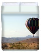 Floating Down The Hill Duvet Cover