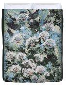 Floating Flower Fantasy Duvet Cover