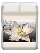 Floating Lily Duvet Cover