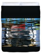 Floating On Blue 19 Duvet Cover