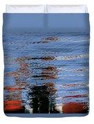 Floating On Blue 16 Duvet Cover