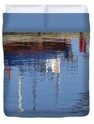 Floating On Blue 21 Duvet Cover