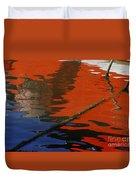 Floating On Blue 26 Duvet Cover