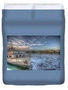 Floating Restaurant Duvet Cover