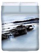 Floating Stone Duvet Cover