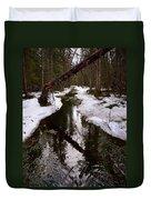 Flooding Forest Duvet Cover
