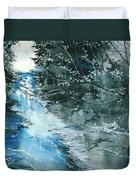 Floods 3 Duvet Cover by Anil Nene