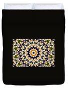 Flora Kaleidoscope Duvet Cover