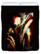 Floral Abstract I Duvet Cover