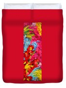 Floral Abstract Part 1 Duvet Cover
