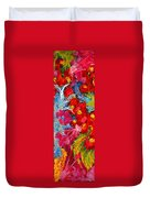 Floral Abstract Part 3 Duvet Cover