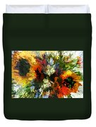 Floral Art Xiv Duvet Cover