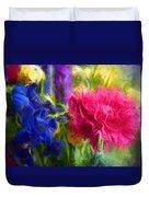 Floral Art Xxxxvi Duvet Cover