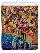 Floral Bliss Duvet Cover