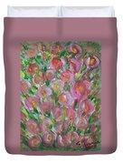 Floral Burst Duvet Cover