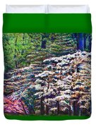 Floral Cathedral Duvet Cover