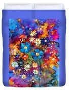 Floral Dance Fantasy Duvet Cover