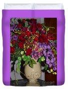 Floral Decor Duvet Cover
