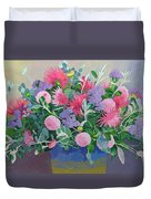 Floral Display Duvet Cover