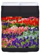 Floral Fantasy Duvet Cover by Dan Sproul