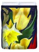 Floral Flow Duvet Cover
